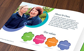 Recent work - St Clare Hospice